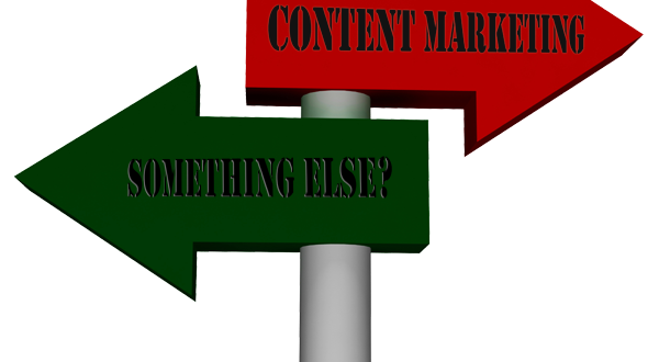 Should you use content marketing or something else?
