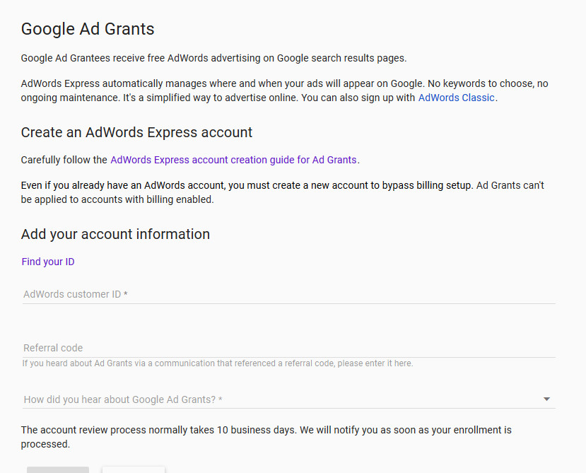 definitive guide how to set up google ad grants for nonprofits for rh proactivecontent net Grant Money Clip Art Giving Grants